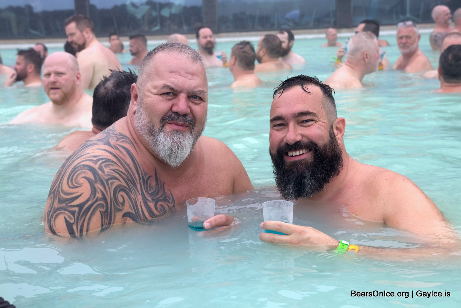 Bears on Ice 2017 - The Blue Lagoon