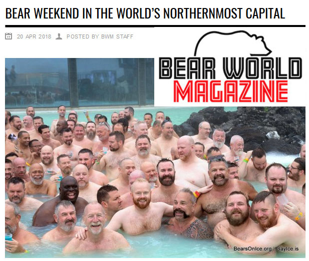 Bear World Magazine article on Bears on Ice