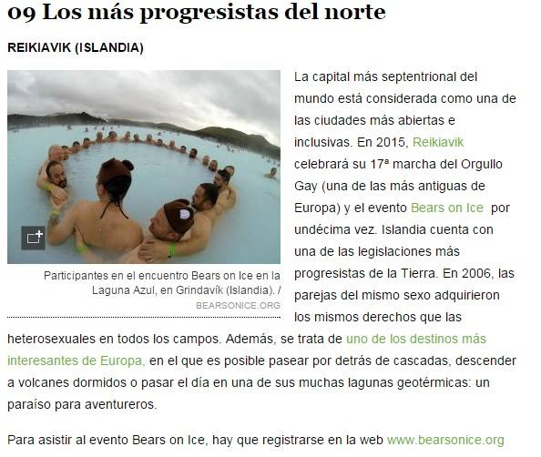 El Pais - One of the most open and inclusive cities in the world