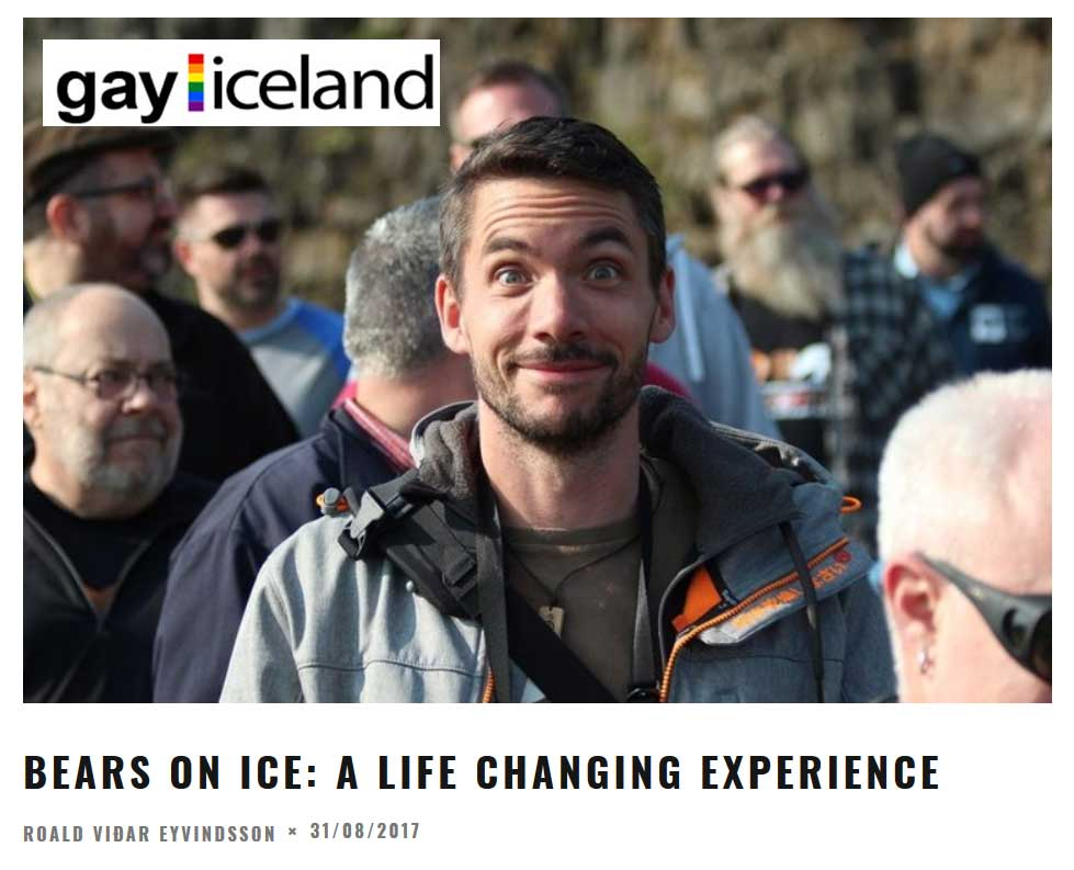 GayIceland article on Bears on Ice